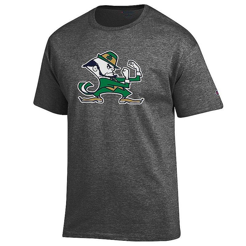 Notre Dame Fighting Irish TShirt Leprechaun Charcoal APC03004698