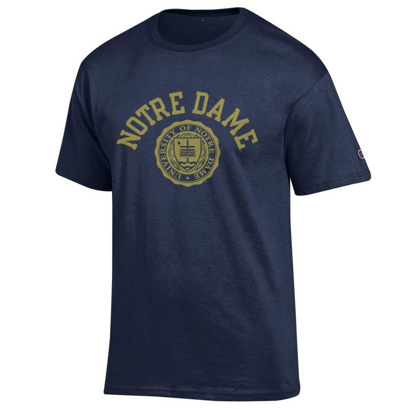 Notre Dame Fighting Irish TShirt Seal Navy APC02873563
