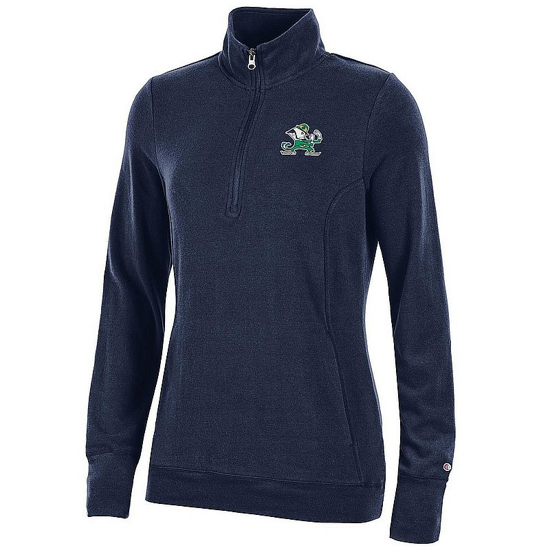 Notre Dame Fighting Irish Women's Quarter Zip Navy APC03319933