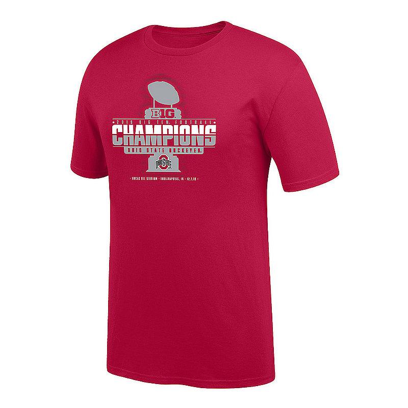 Ohio State Buckeyes Big Ten Champs Youth Tshirt 2019 Locker Room