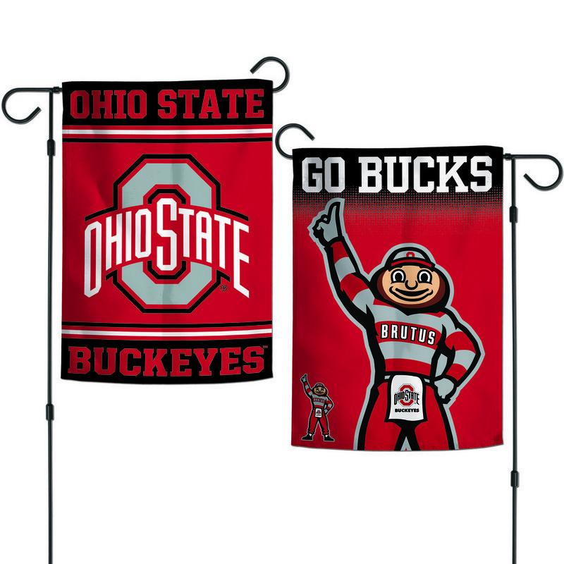 "Ohio State Buckeyes Garden Flag 12.5""x18"""