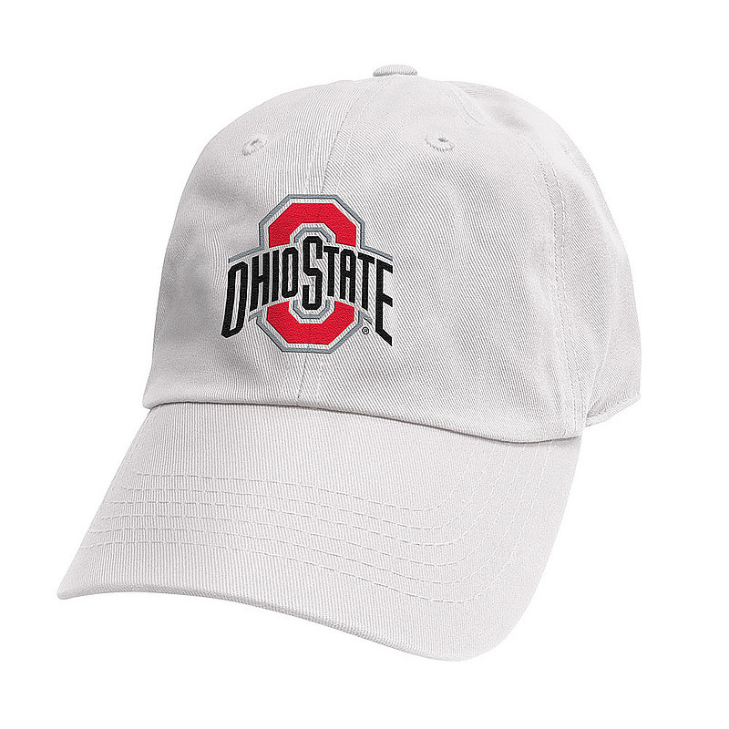Ohio State Buckeyes Hat White