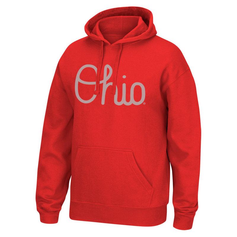Ohio State Buckeyes Hoodie Sweatshirt Red 461116