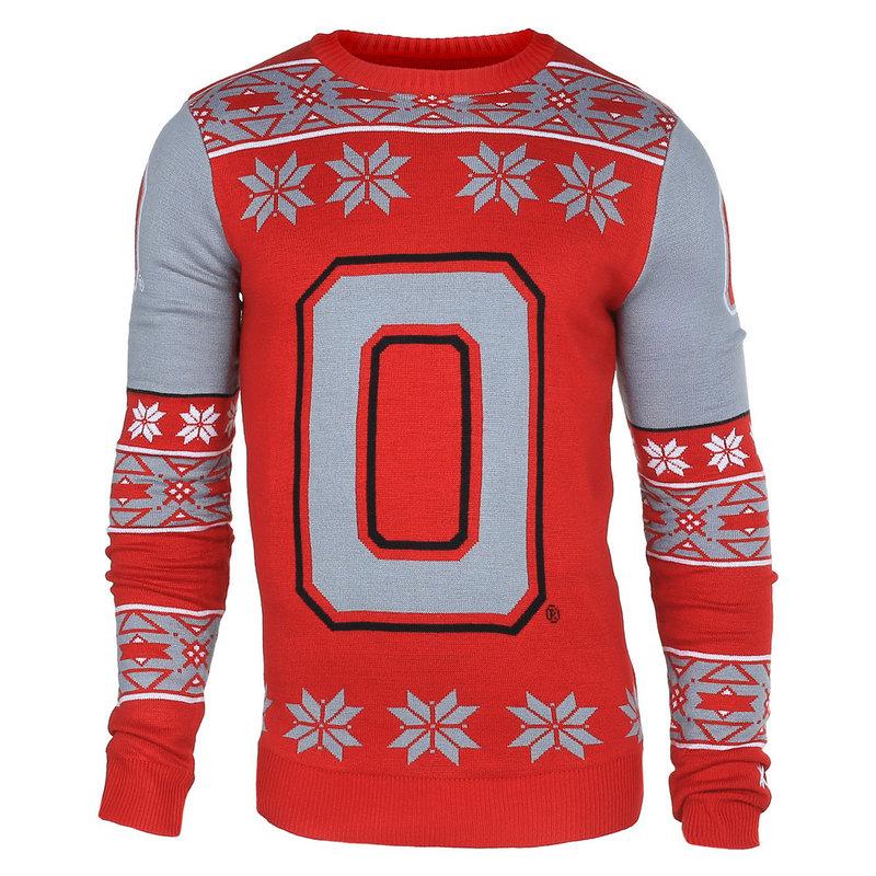 Ohio State Buckeyes Logo Ugly Christmas Sweater