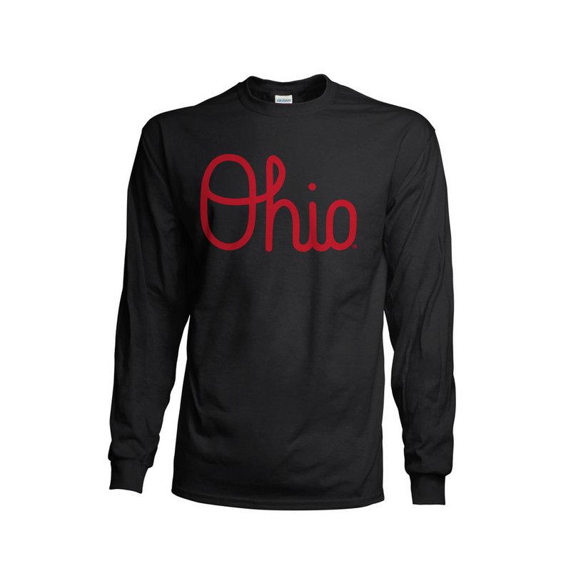 Ohio State Buckeyes Long Sleeve TShirt Black 461116