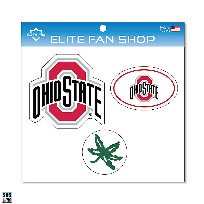 Ohio State Buckeyes Magnet 3-Pack