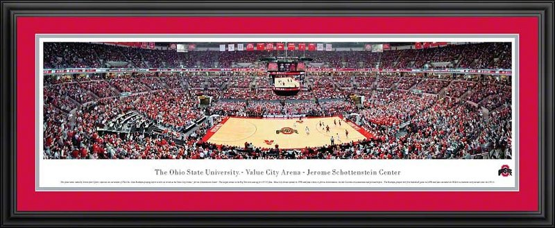 Ohio State Buckeyes Panoramic Picture Deluxe Frame OSU1D