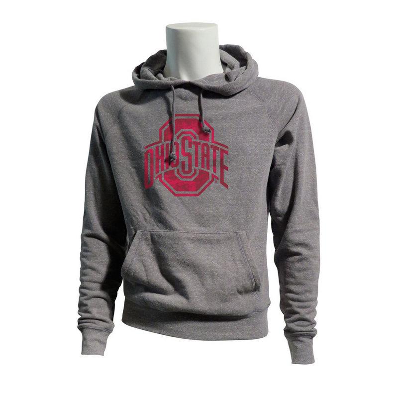 Ohio State Buckeyes Tri Blend Hoodie Sweatshirt
