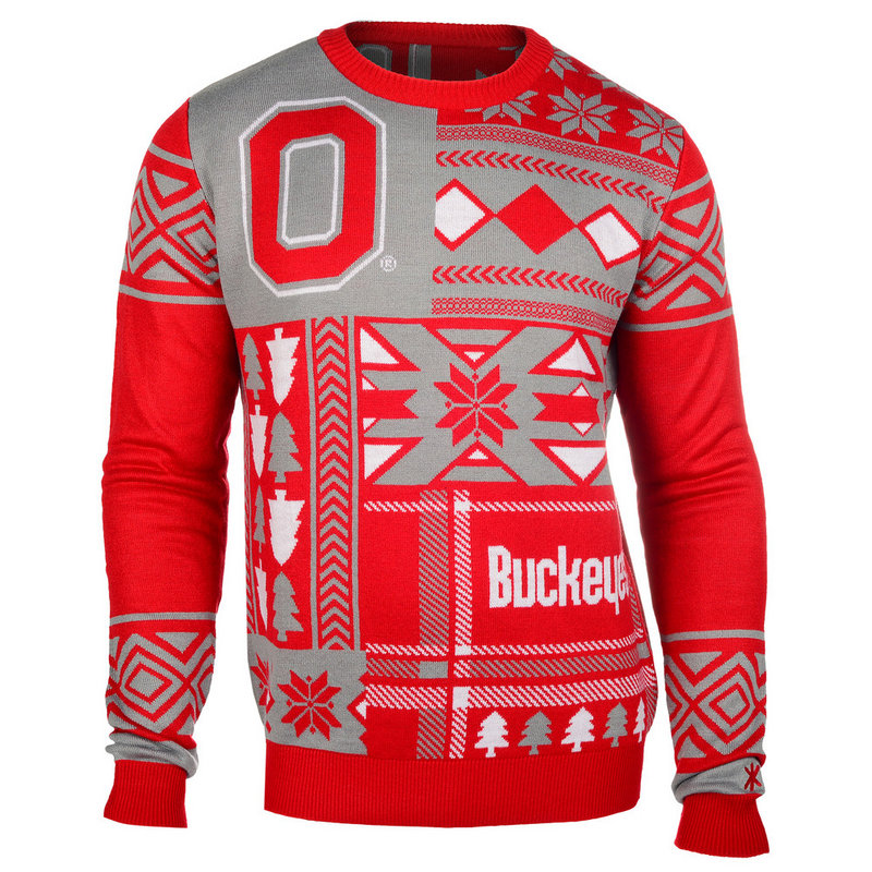 Ohio State Buckeyes Ugly Christmas Sweater