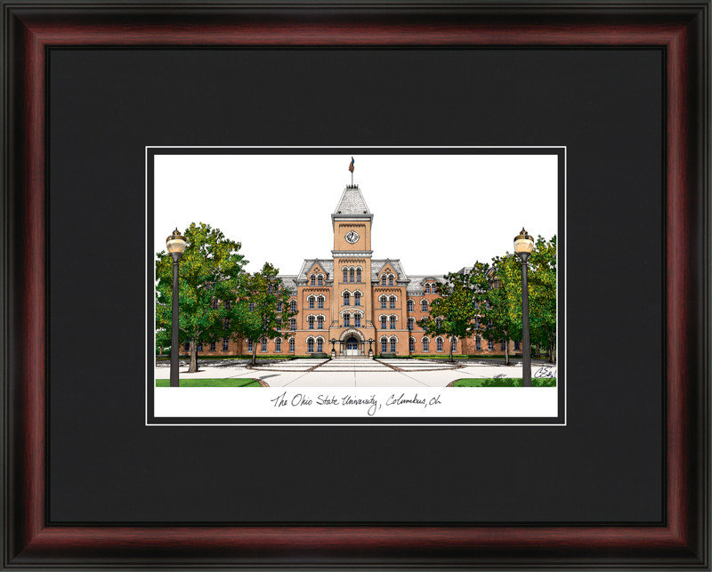 Ohio State University Academic Lithograph oh987a