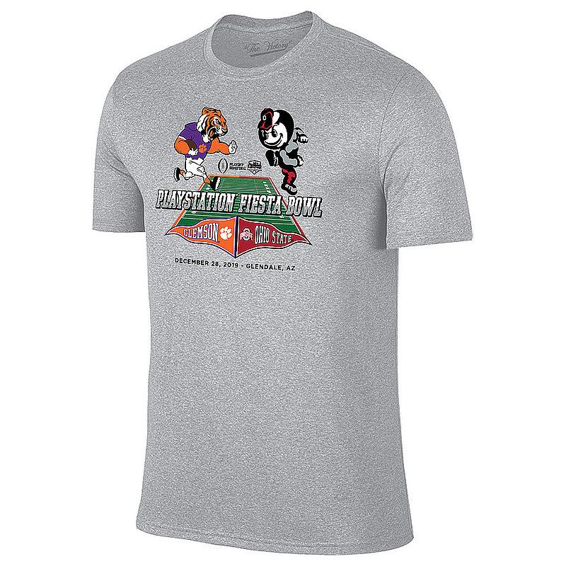 Ohio State vs Clemson Fiesta Bowl Tshirt 2019 Mascot VFIB3005A-CL-OS_TV1001F_HGR