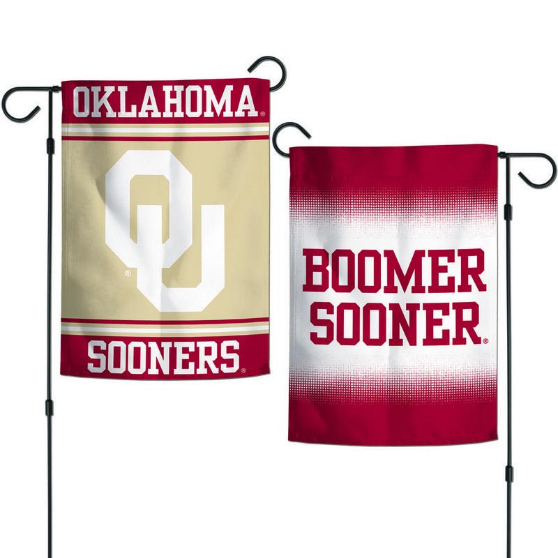 """Oklahoma Sooners 12.5""""x18"""" Garden Flag"""