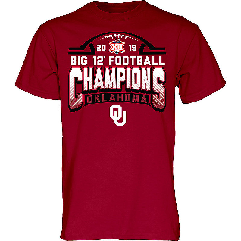 Oklahoma Sooners Big 12 Champs Tshirt 2019 Locker Room Annihilate