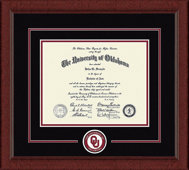 Oklahoma Sooners Diploma Frame 304173
