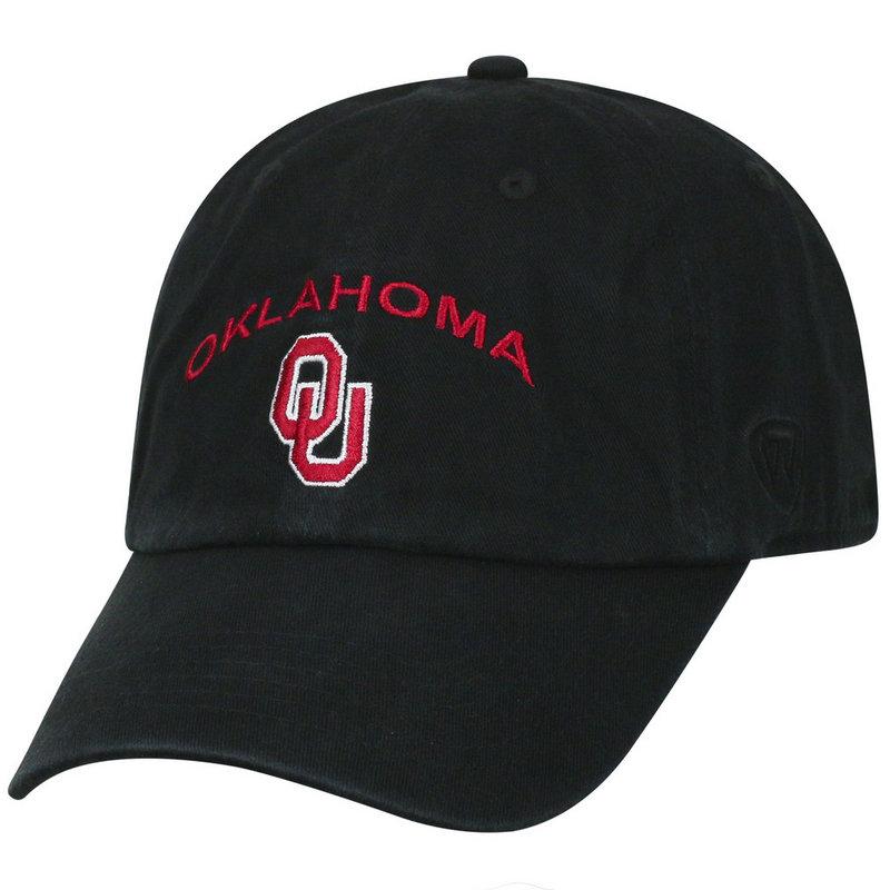 Oklahoma Sooners Hat Arch Black CHAMP-OK-ADJ-BLK1