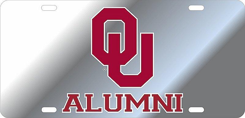 Oklahoma Sooners License Plate Alumni 17810