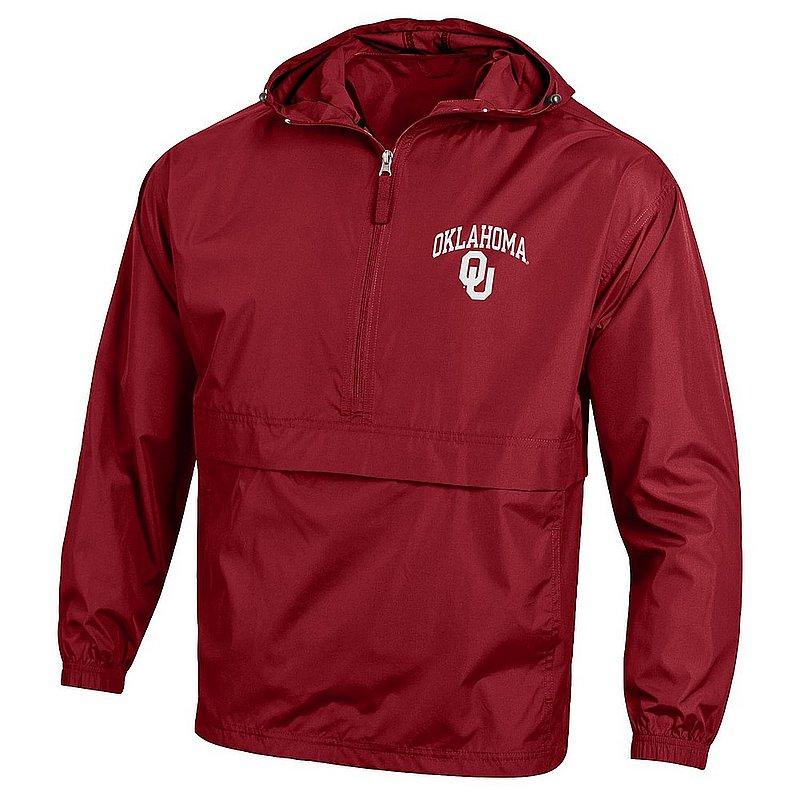 Oklahoma Sooners Packable Jacket Cardinal APC02845699
