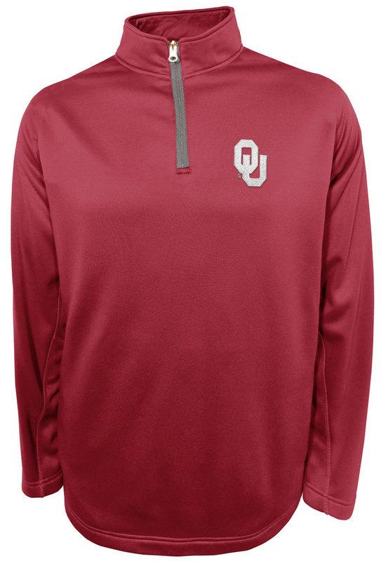 Oklahoma Sooners Performance Quarter Zip Sweatshirt