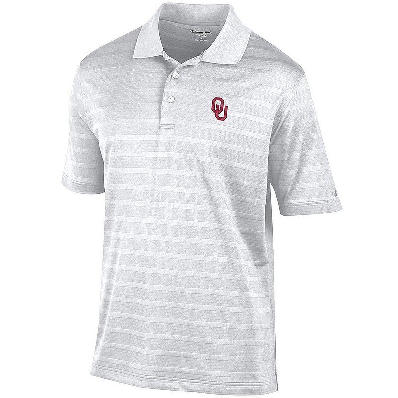 Oklahoma Sooners Polo Shirt White AEC02595061