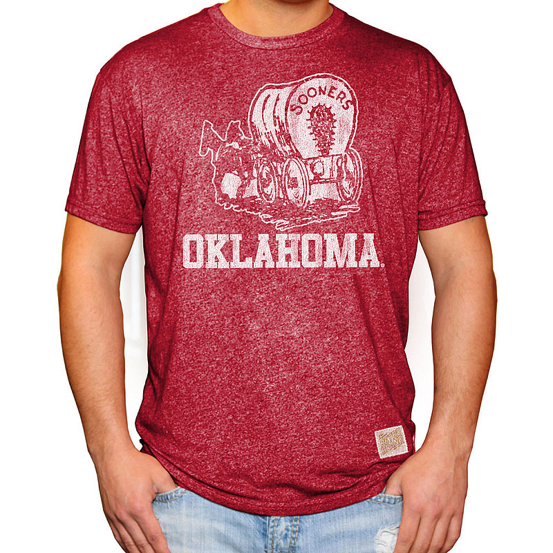 Oklahoma Sooners Retro TShirt Crimson RB124