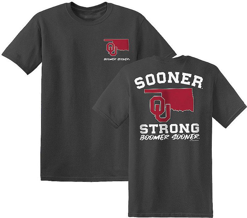 Oklahoma Sooners Tshirt State Strong OKStateStrong
