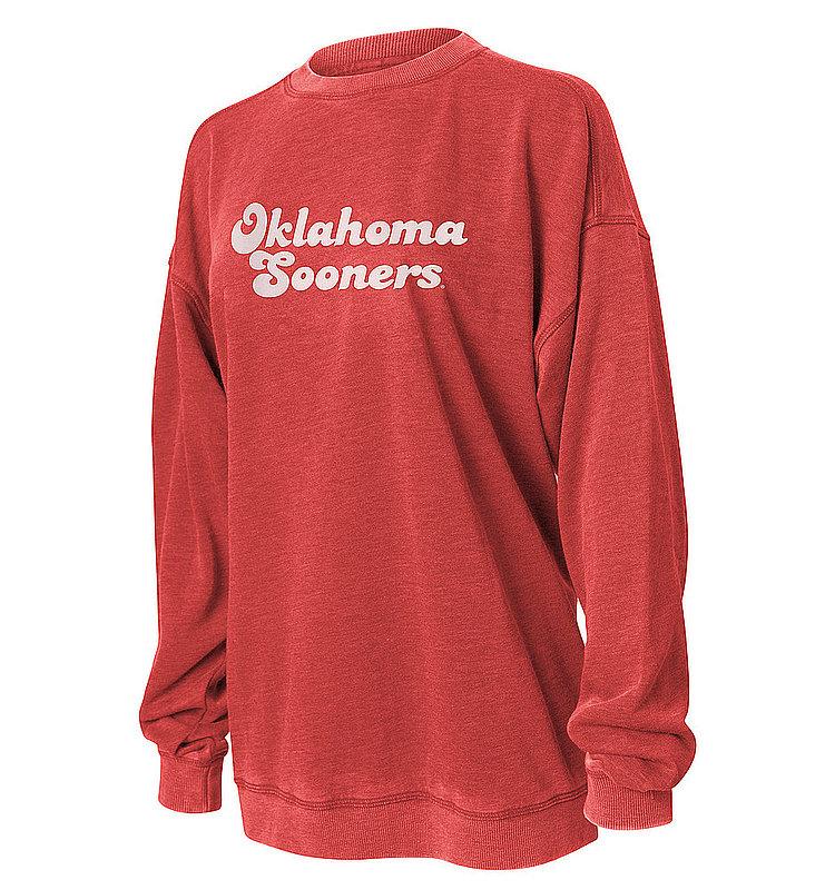 Oklahoma Sooners Women's Crewneck Sweatshirt 449-39-OU535