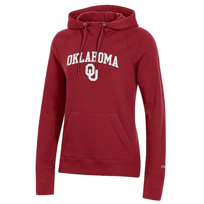 Oklahoma Sooners Women's Hooded Sweatshirt Crimson APC03442647