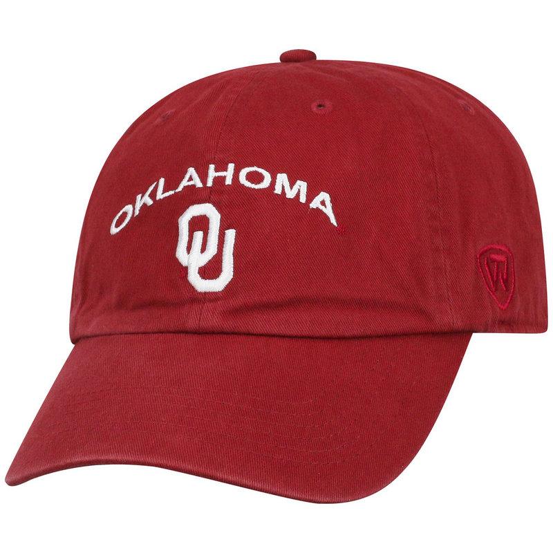 Oklahoma Sooners Womens Hat Arch Crimson CHAMP-OK-ADW-TMC1