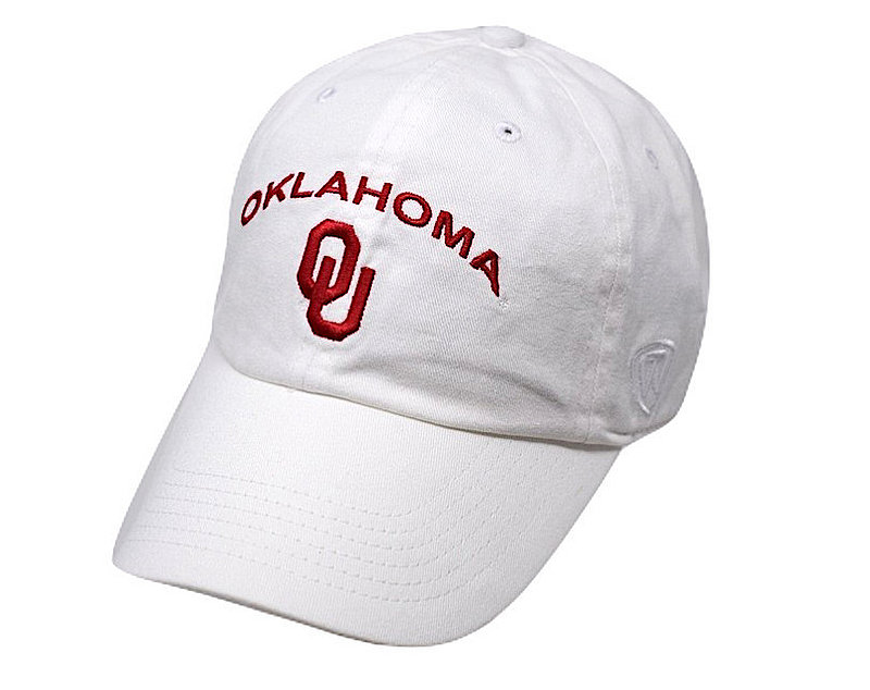 Oklahoma Sooners Womens Hat Arch White CHAMP-OK-ADW-WHT1