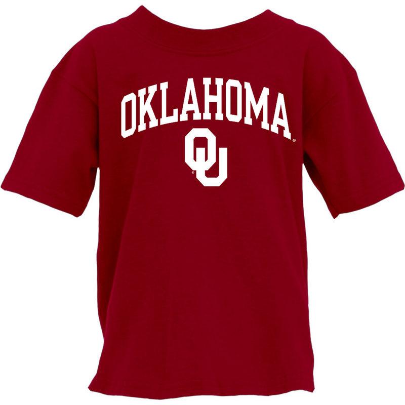 Oklahoma Sooners Youth TShirt Crimson 000000000H462