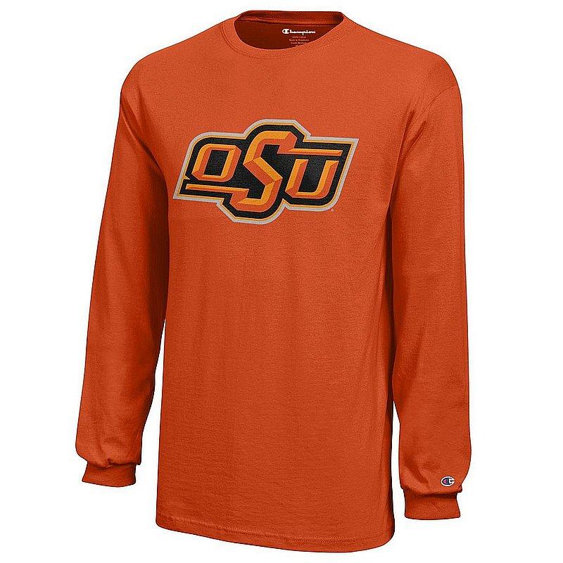 Oklahoma State Cowboys Kids Long Sleeve Tshirt Orange APC03009021