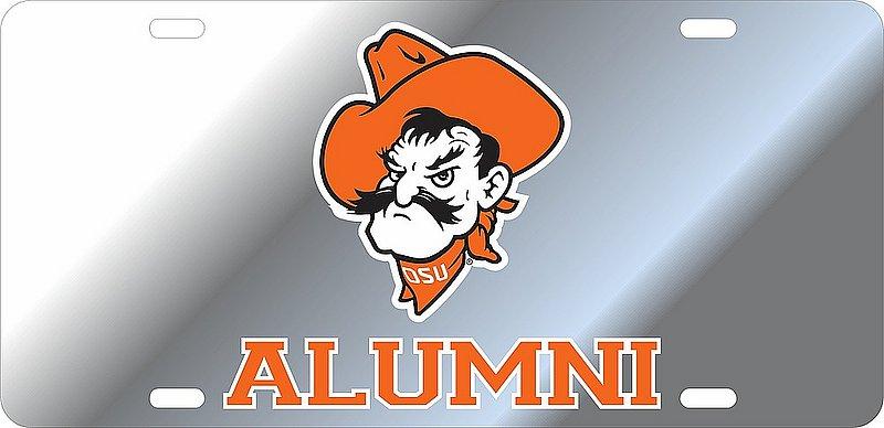Oklahoma State Cowboys License Plate Alumni 21750