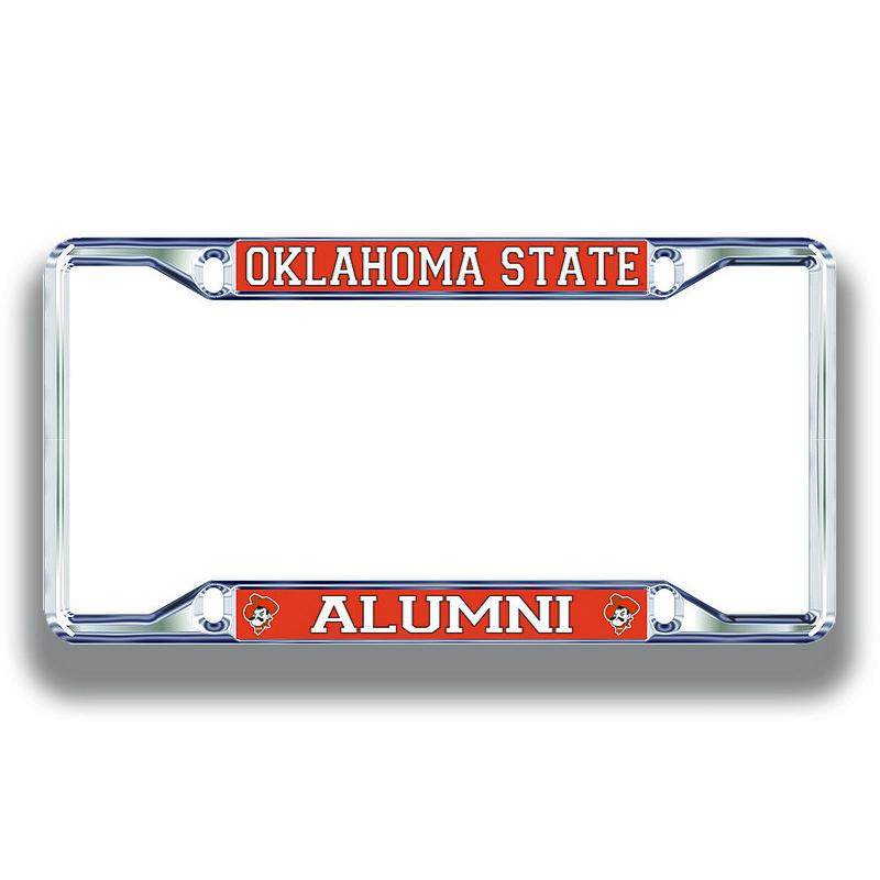 Oklahoma State Cowboys License Plate Frame Alumni 21747