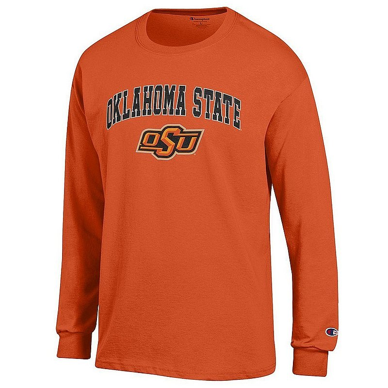 Oklahoma State Cowboys Long Sleeve TShirt Varsity Orange APC03004810*