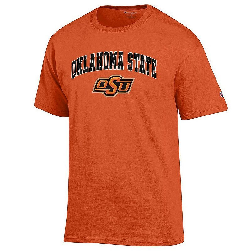 Oklahoma State Cowboys TShirt Varsity Orange Arch Over APC03004810*