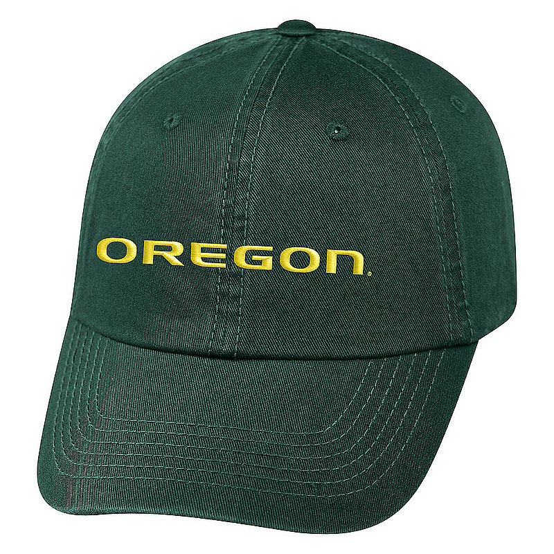 Oregon Ducks Hat Icon Green CHAMP-OR-ADJ-TMC