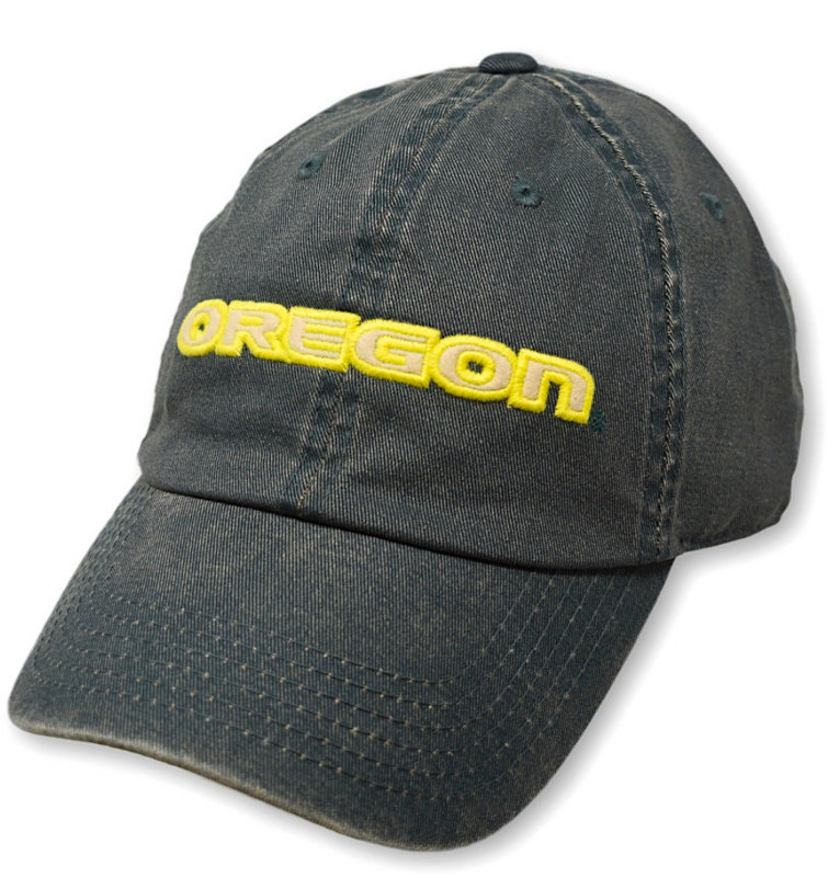 Oregon Ducks Icon Green Hat DPAT-OR-ADJ-TMC6