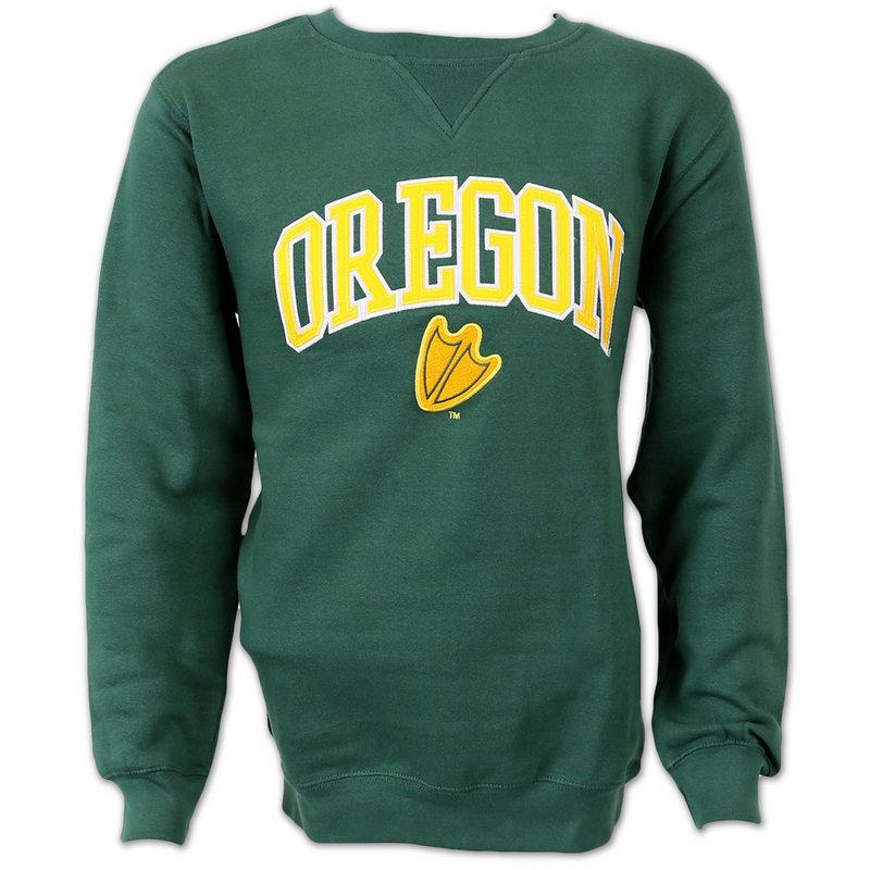 Oregon Ducks Mens Crew Neck Sweatshirt