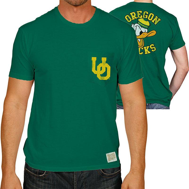 Oregon Ducks Pocket TShirt Green RB128