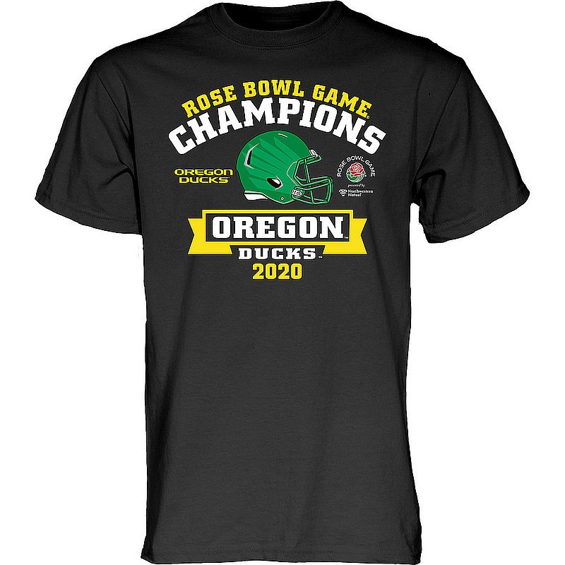 Oregon Ducks Rose Bowl Champs Tshirt 2020 SURVEY CARD