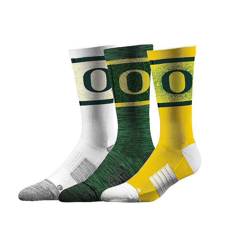 Oregon Ducks Socks 3-Pack