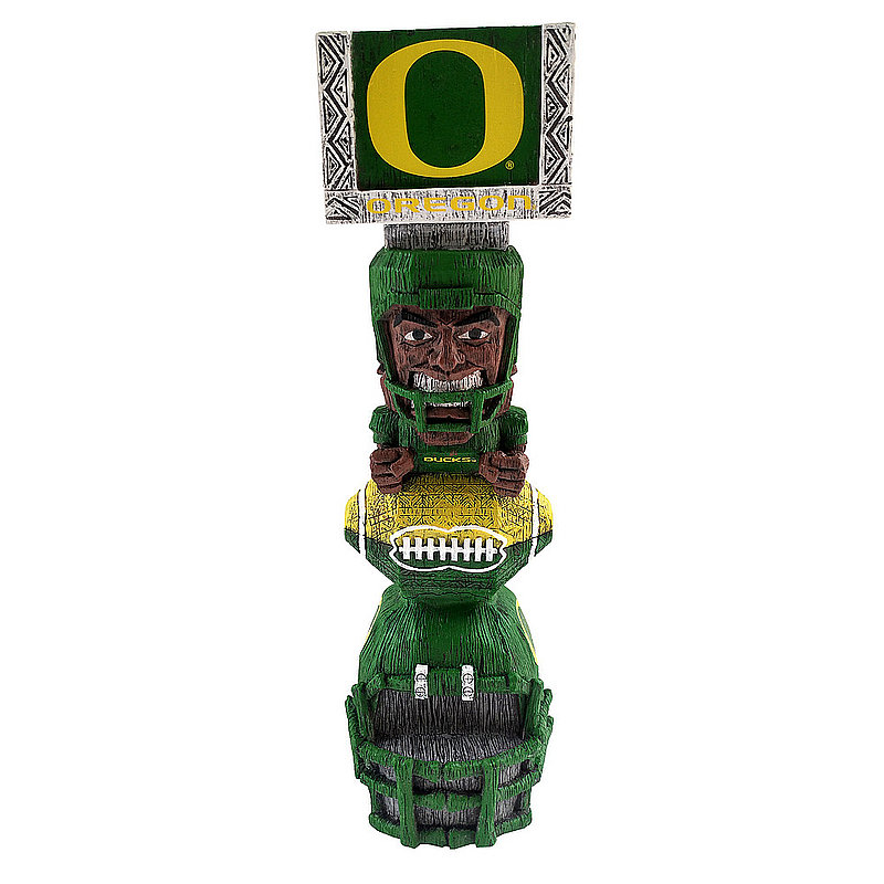 Oregon Ducks Tiki Totem Figurine TKNCSTKOU