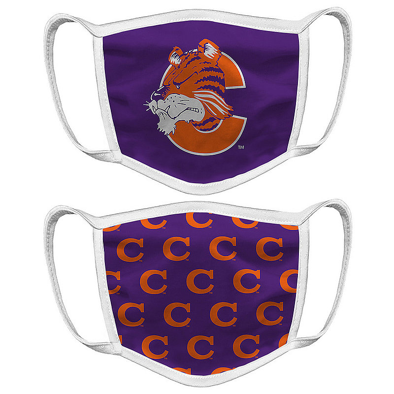 Clemson Tigers Retro Face Covering Vault 2-Pack
