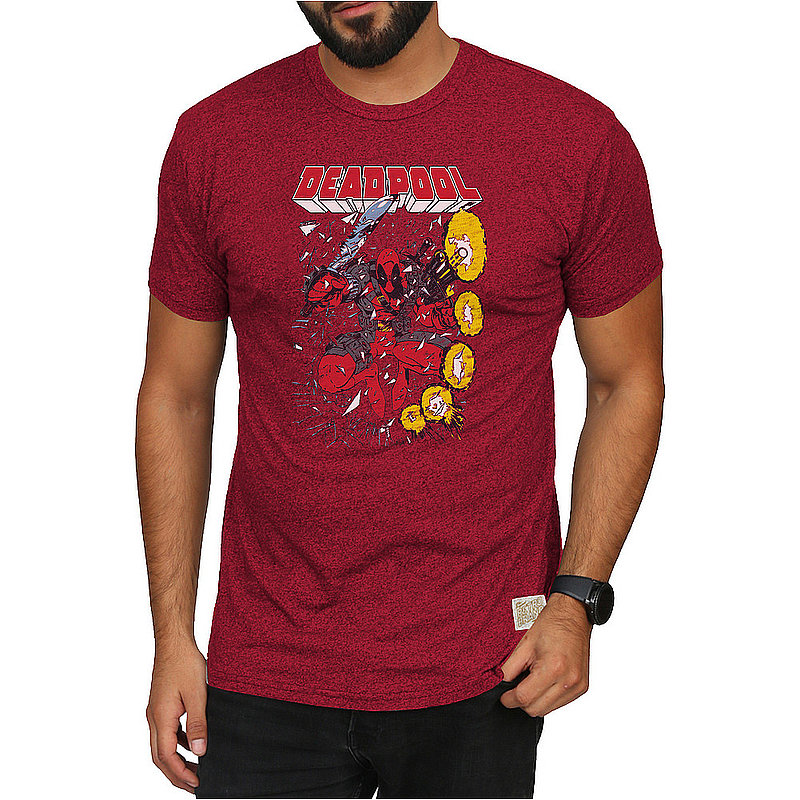 Original Retro Brand Marvel Deadpool Retro Tshirt Red MVL173A_RB124M_MTRE (Original Retro Brand)