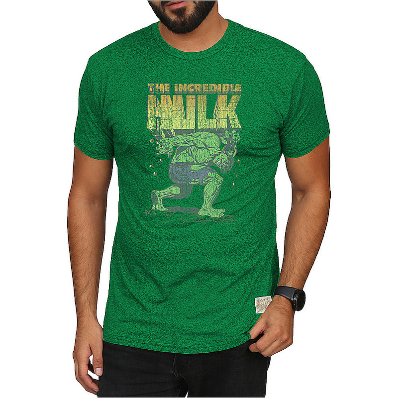Original Retro Brand Marvel Hulk Retro Tshirt Green MVL071A_RB124M_MTSP (Original Retro Brand)