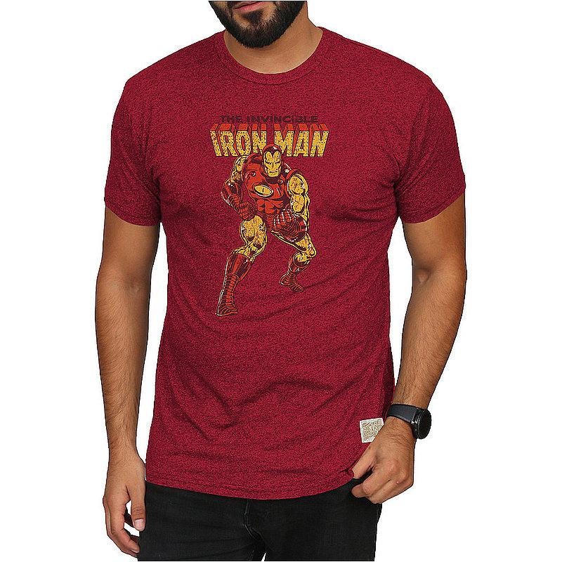 Original Retro Brand Marvel Iron Man Retro Tshirt Red MVL126A_RB124M_MTDR (Original Retro Brand)
