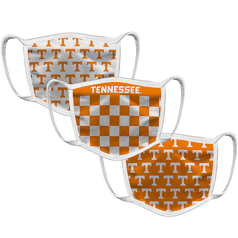 Tennessee Volunteers Retro Face Covering 3-Pack