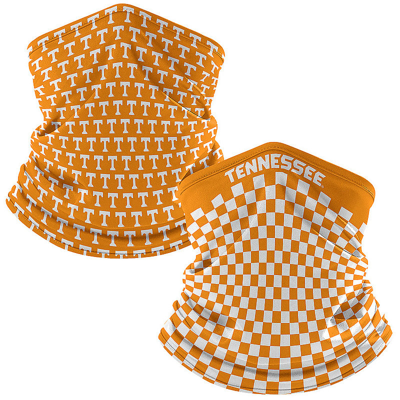 Tennessee Volunteers Retro Face Covering Gaiters 2-Pack