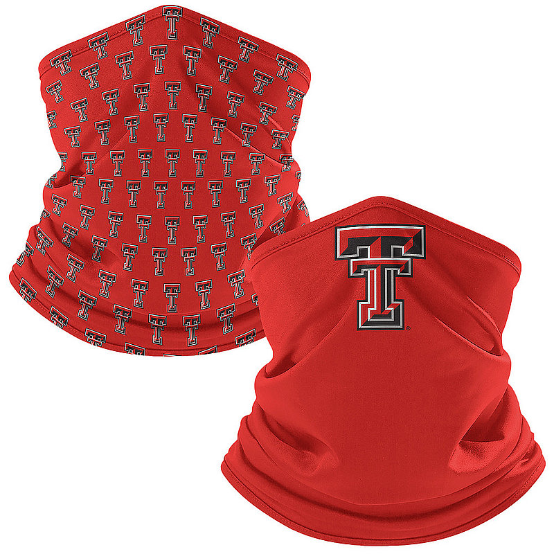 Texas Tech Red Raiders Retro Face Covering Gaiters 2-Pack