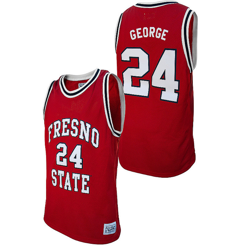 Paul George Retro Fresno State Basketball Jersey RB7027	FRSPGN04A